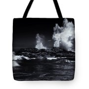 Explosion Tote Bag by Mike  Dawson