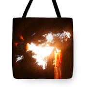 Explosive Candlelight Tote Bag