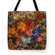 Explosive Chaos Tote Bag