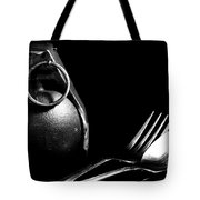 Explosive Dining Tote Bag