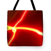 Explosive Gold Fusion In The Cosmos Tote Bag