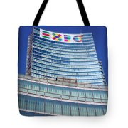 Expo 2015 Sign Tote Bag