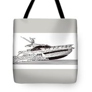 Express Sport Yacht Tote Bag by Jack Pumphrey
