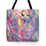 Expressing Her Passion Tote Bag