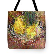 Expressionist 2 Messy Pears Tote Bag