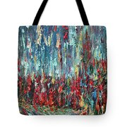 Expressionist Cat Oil Painting.1 Tote Bag