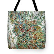 Expressionist Cat Oil Painting.2 Tote Bag