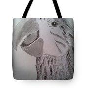 Expressive Parrot Tote Bag