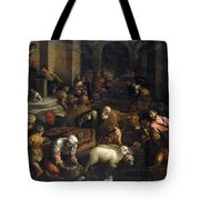 Expulsion Of Merchants From The Temple Tote Bag