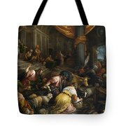 Expulsion Of The Merchants From The Temple Tote Bag