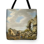 Exterior Of The Ruined Roman Theatre Tote Bag