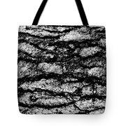 Exterior Skin Bw Tote Bag