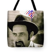 Extra With Flag In Hat The Great White Hope Set Globe Arizona 1969-2008 Tote Bag