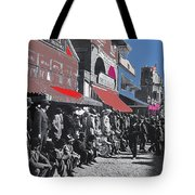 Extras The Great White Hope Set Recreation Reno Nevada July 4th 1910  Tote Bag