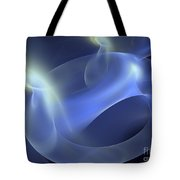 Extraterrestrial Tubing Tote Bag