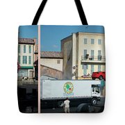 Extreme Stunt Show Walt Disney World 4 Panel Composite Tote Bag