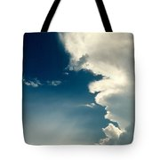 Extreme Weather On Its Way Tote Bag