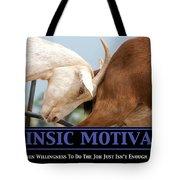 Extrinsic Motivation De-motivational Poster Tote Bag