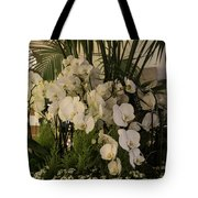 Exuberant Orchid Display Tote Bag