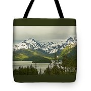 Eyak Lake Landscape Tote Bag