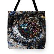 Eye Of A Hurricane Called You Tote Bag