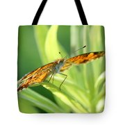 Eye Of The Butterfly Tote Bag