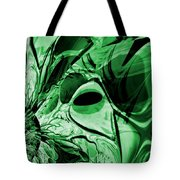 Eye Of The Crystal Dragon Tote Bag