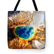 Eye Of The Earth Tote Bag