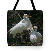 Eye Of The Heron Tote Bag