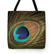 Eye Of The Peacock #5 Tote Bag