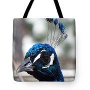 Eye Of The Peacock Tote Bag