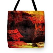 Eye Of The Storm 2 - Blown Away - Abstract - Fractal Art Tote Bag