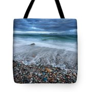 Eye Of The Storm Square Tote Bag