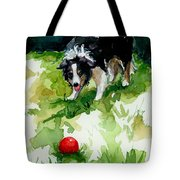 Eye On Tthe Ball Tote Bag