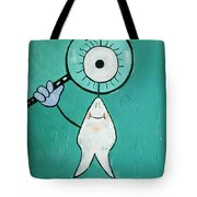 Eye Tooth  Tote Bag by Anthony Falbo