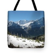 Eyeful Of The Eiger Tote Bag