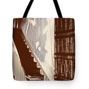 Eyes At The Top Of The Stairs Tote Bag