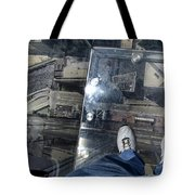 Eyes Down From The 103rd Floor One Big Step Tote Bag