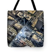 Eyes Down From The 103rd Floor One Small Step Tote Bag