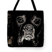 Eyes In The Dark Tote Bag