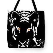Eyes Of A Tiger 4 Tote Bag