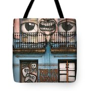 Eyes Of Barcelona Tote Bag