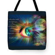 Eyes Of Love Tote Bag
