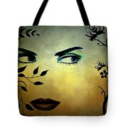 Eyes Of Mother Nature Tote Bag