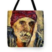 Eyes Of Sadness Tote Bag