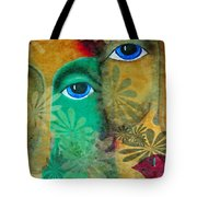 Eyes Of The Beholder Tote Bag