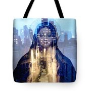 Eyes On The Alley Tote Bag