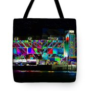 Eyes On The Pier Tote Bag