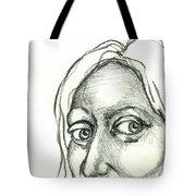 Eyes - The Sketchbook Series Tote Bag by Michelle Calkins