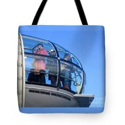 Eying London Tote Bag